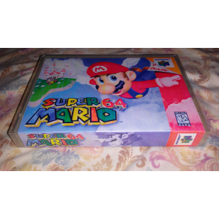 N64 Custom Case-Super Mario 64