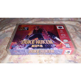 N64 Custom Case-Duke Nukem 64