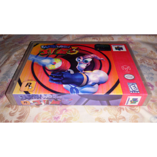 N64 Custom Case-Earthworm Jim 3D