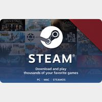 $40.00 Steam US Gift Card
