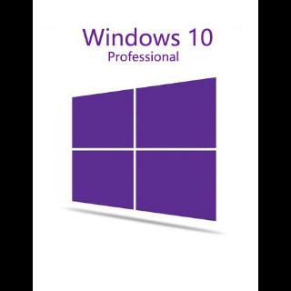 Windows 10 Pro Retail Licence Key (1xPC)