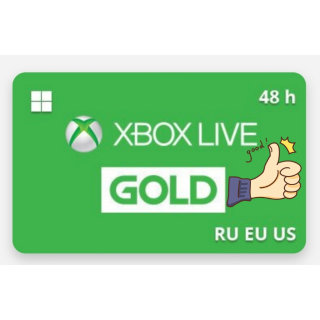 Xbox Live Gold 2 days (48 hours)