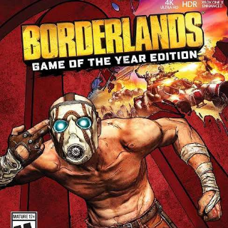 2x Borderlands GOTY (Xbox One) GLOBAL!!