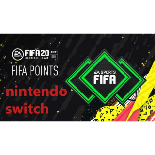 FIFA 20 - 2200 FIFA Ultimate Team Points - Nintendo Switch