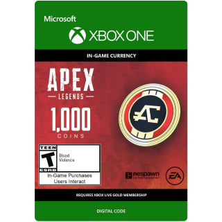 APEX Legends: 1,000 Coins - Xbox One