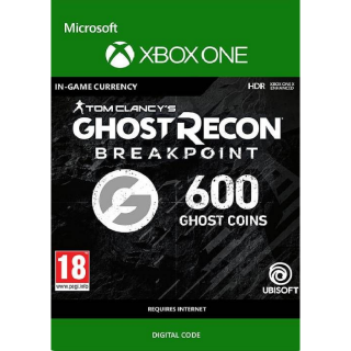 Tom Clancy's: Ghost Recon Breakpoint: 600 Ghost Coins - Xbox One