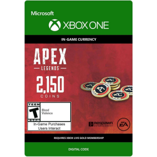 APEX Legends: 2150 Coins - Xbox One
