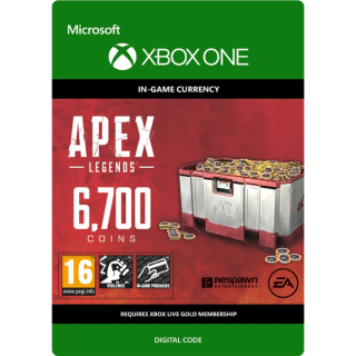 APEX Legends: 6,700 Coins - Xbox One