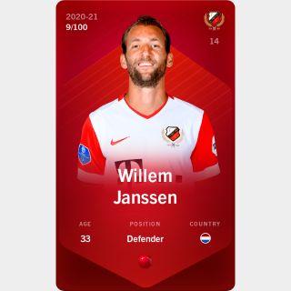 Willem Janssen 2020-21 • Rare 9/100