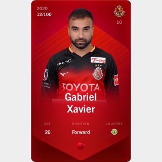Gabriel Xavier 2020-21 • Rare 12/100