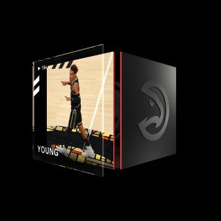 TRAE YOUNG 3 Pointer Base Set (Series 2) Common #10975/35000+