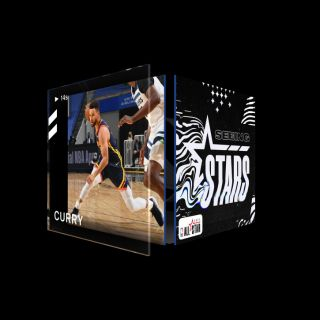 STEPH CURRY 3 Pointer Seeing Stars (Series 2) Common #8504/10000