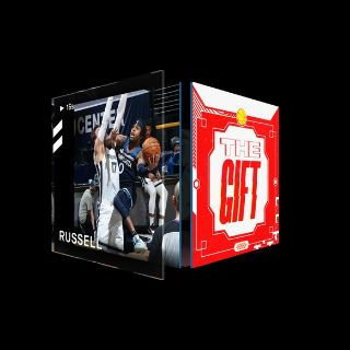 D'ANGELO RUSSELL Layup The Gift (Series 2) Common #7199/8888