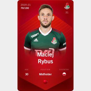 Maciej Rybus 2020-21 • Rare 70/100