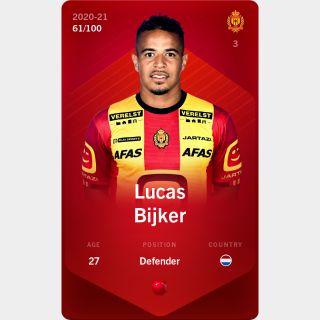 Lucas Bijker 2020-21 • Rare 61/100