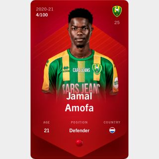 Jamal Amofa 2020-21 • Rare 4/100