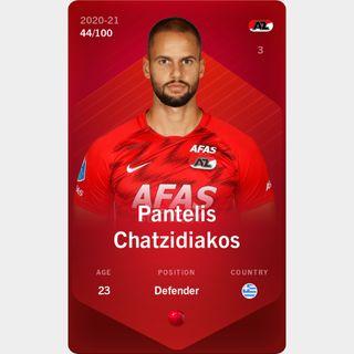 Pantelis Chatzidiakos 2020-21 • Rare 44/100