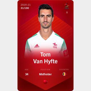 Tom Van Hyfte 2020-21 • Rare 31/100