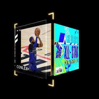 MIKE CONLEY 3 Pointer 2021 All-Star Game (Series 2) Rare #837/2021