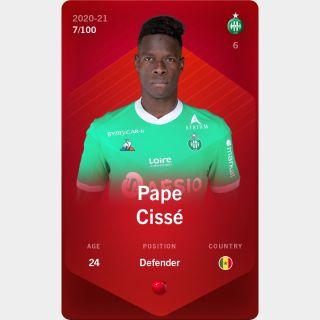 Pape Cissé 2020-21 • Rare 7/100