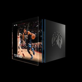 KARL-ANTHONY TOWNS Dunk Base Set (Series 1) Common #1181/1500
