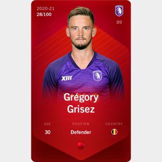 Grégory Grisez 2020-21 • Rare 28/100