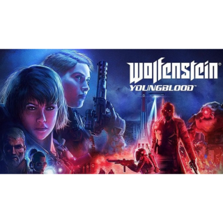 Wolfenstein Youngblood Bethesda Key GLOBAL