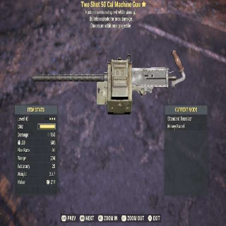Weapon | TSE 50 CAL.