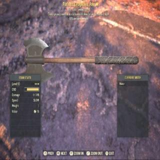 Weapon | LV 50 GROGNAK AXE 3*