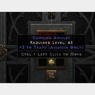 Magic   3 Traps Amulet