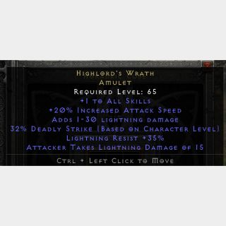 Uniques   Highlords