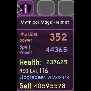 Gear   Mythical Mage Helmet