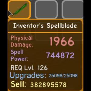 Gear   Inventors Spellblade