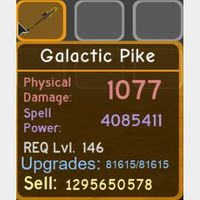 Weapon | Galactic Pike
