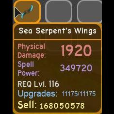 Gear   Sea Serpents Wings