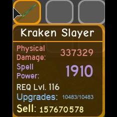 Gear   Kraken Slayer