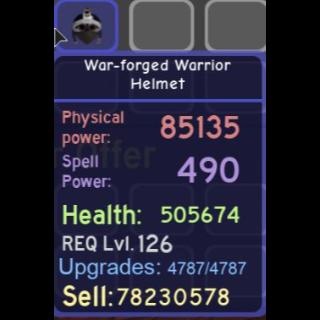 Gear   War-forged Warrior Helm
