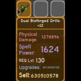 Gear | Dual Bioforged Drills