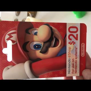 $20.00 Gift Card