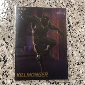 Marvel COC SHINY Black Panther and SHINY Killmonger