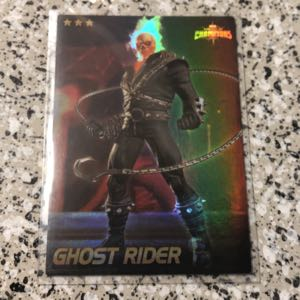 Marvel COC SHINY Ghost Rider Collectible card