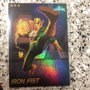 Marvel COC SHINY Iron Fist