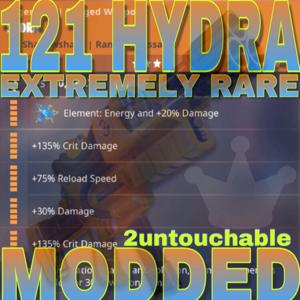Bundle | 121 MODDED HYDRA‼️RARE‼️