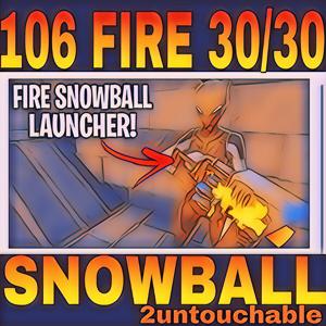 Bundle | 106🔥FIRE🔥 SNOWBALL LAUNCHER💀