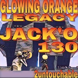 Bundle | 130 RARE LEGACY GLOWING JACK'O💀