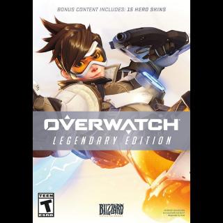 Overwatch Legendary Edition Battle.net code