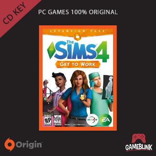 The Sims 4 Get To Work DLC Origin CD Key