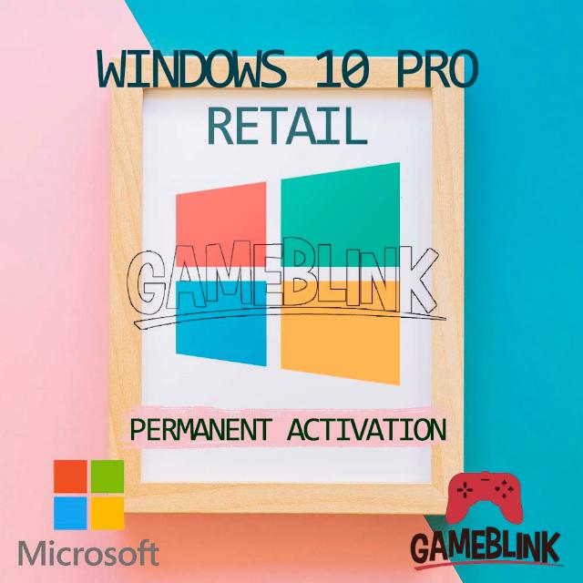 ✅ Windows 10 Pro Retail License Key