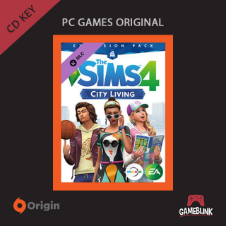 The Sims 4 City Living DLC Origin CD KEY