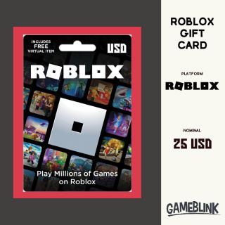 $25.00 Roblox Gift Card INSTANT DELIVERY